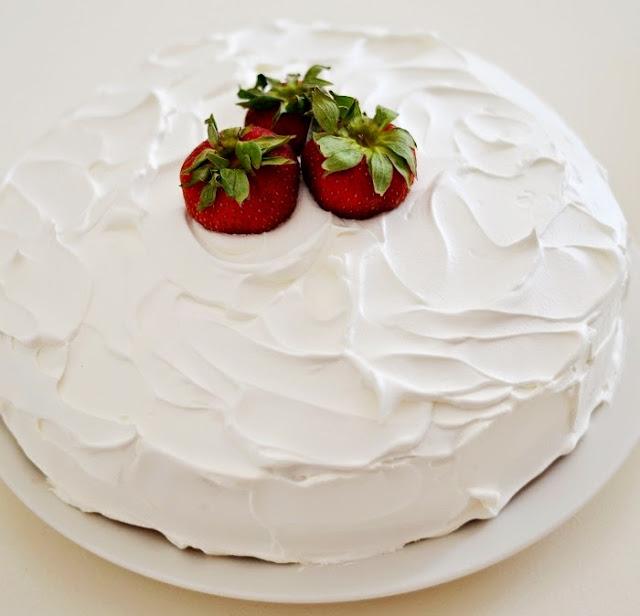 best strawberry cake   Beautifully Seaside