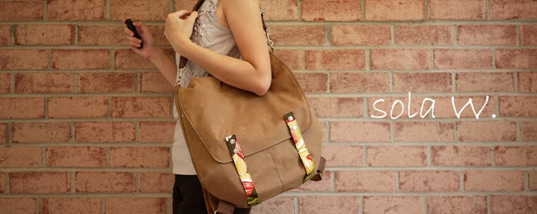 Original Functional Vegan Handmade Bag