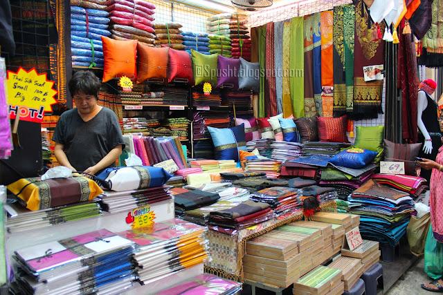 Spusht | Thai Silk Products | Thai Silk Shop | Shopping in Bangkok