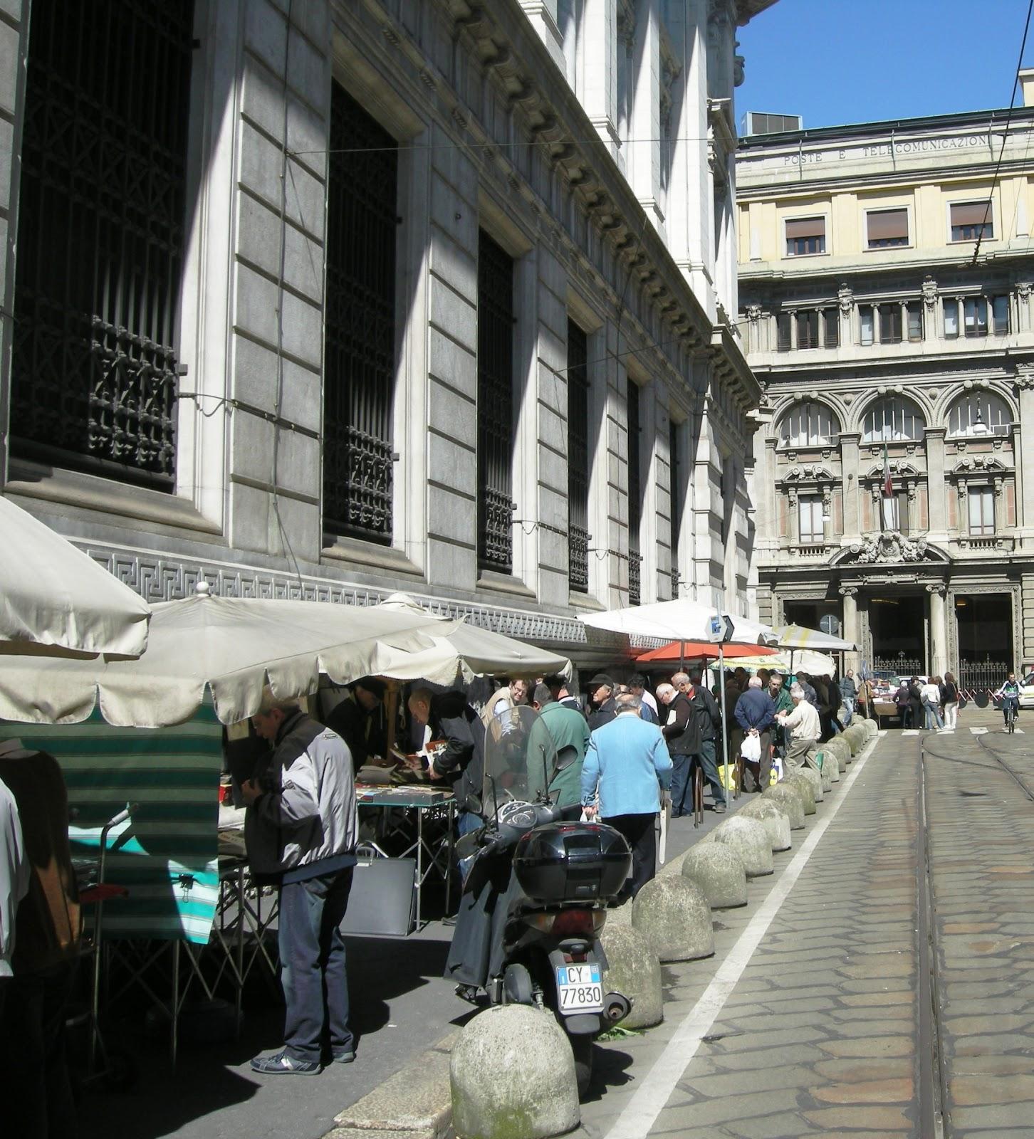 Olonaweb milano mercatino numismatico di via armorari for Il mercatino milano