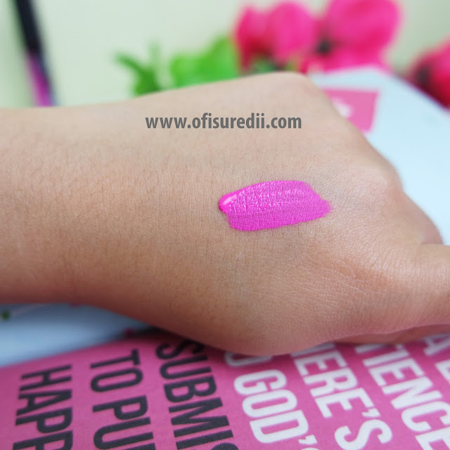 LA Girls Matte Flat Finish Pigment Gloss Review