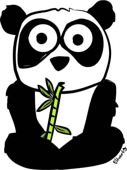 Eltuerto Dibujo Oso panda