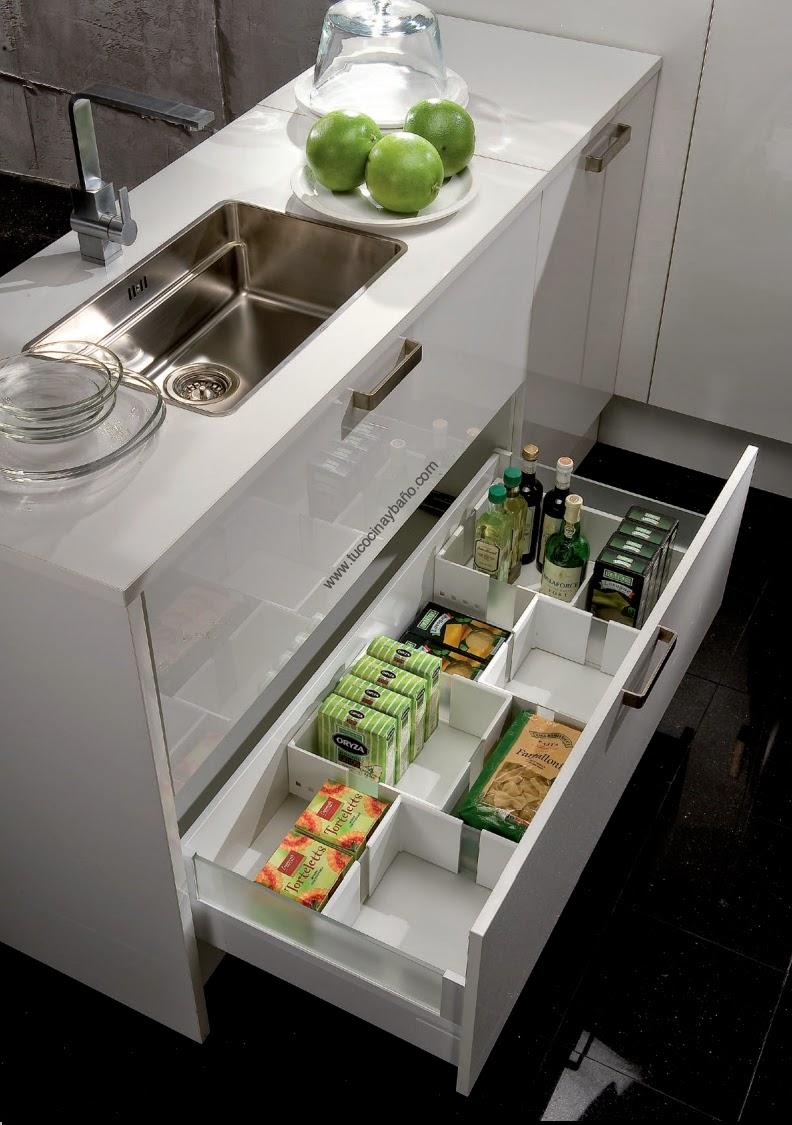 Caja ajustable caj n cocina tu cocina y ba o for Complementos para cocinas