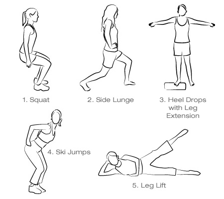 news overseas: Thigh Exercises For Women