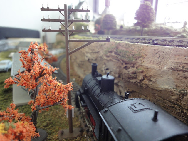 Model Railroad Telephone Poles