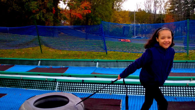 Fall Fun At Blue Lightning Tubing - Snow-less Tubing & Beautiful Fall Foliage One Savvy Mom onesavvymom NYC blog