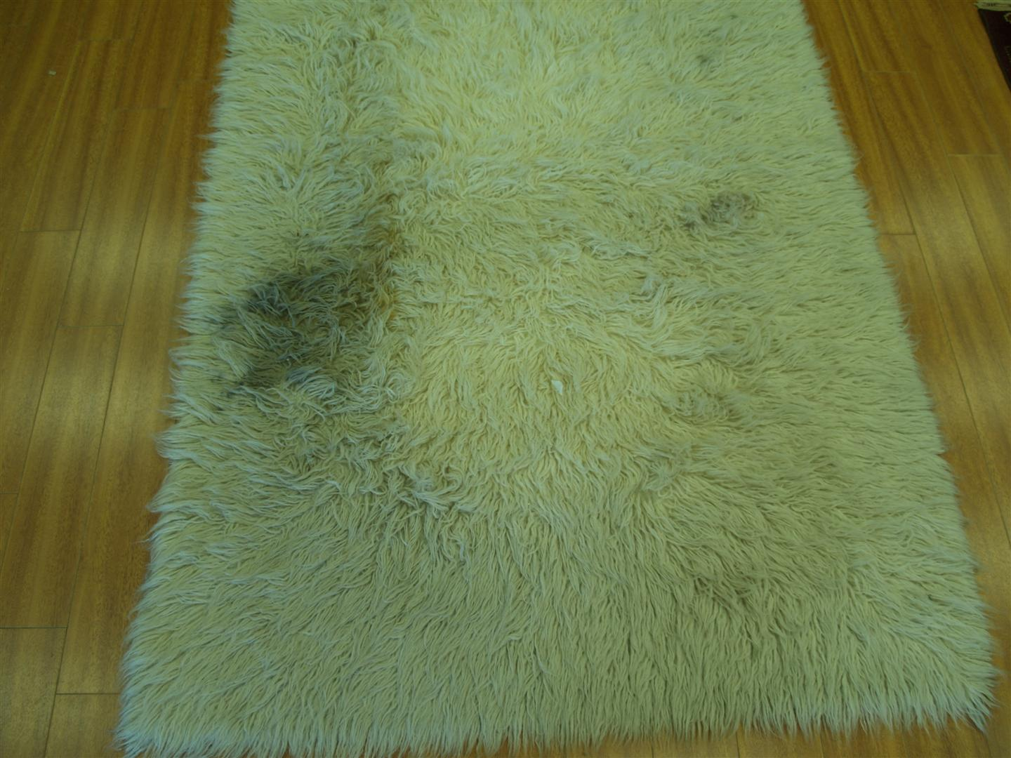 How to clean a flokati rug - So Far During This Year We Have Received Many Rugs From Customers To Be Cleaned Because Of Heavy Dirt Soiling This Flokati Rug Came In A Couple Weeks Ago