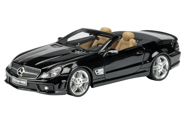 museo 1 43 mercedes benz sl 65 amg cabrio by schuco. Black Bedroom Furniture Sets. Home Design Ideas
