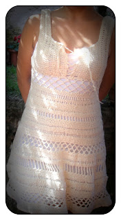 vestito uncinetto, crochet dress