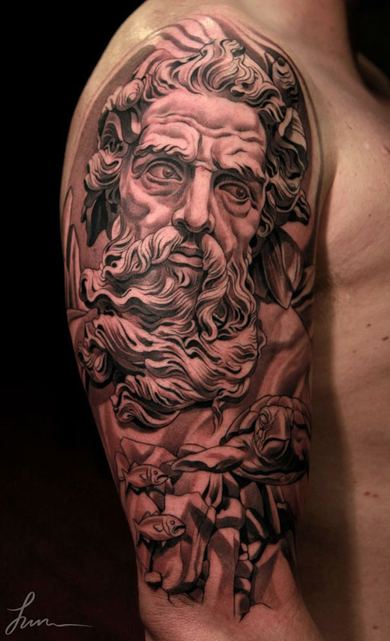 Classical sculpture and tattooing april 2013 for Jun cha tattoos