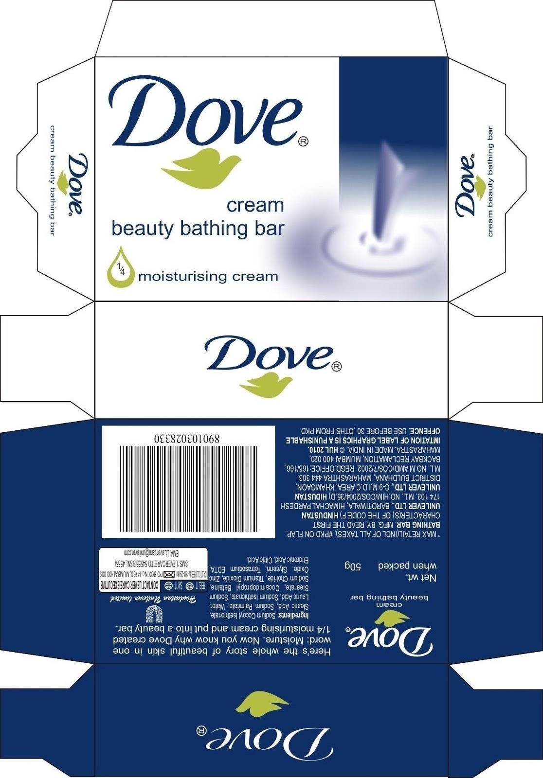 My creative portfolio for Soap box design template