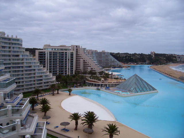 World S Largest Swimming Pool Guinness World Records Chile 39 S San Alfonso Del Mar Resort Most