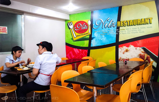 Nitz Restaurant in España Blvd cor Padre Noval near UST