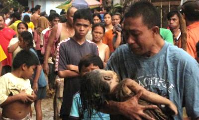 Mindanao Flood Victim
