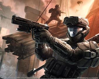 #34 Halo Wallpaper