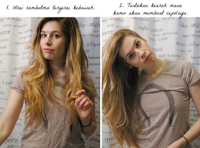 Kanubeea Hair Clip Tandil Santai Dengan Gaya Rambut Cepol Sederhana