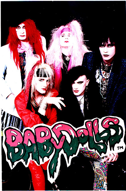 The Babydolls  Hollywood Glam Punk band   photos  promos and Flyers    Glam Punk Bands