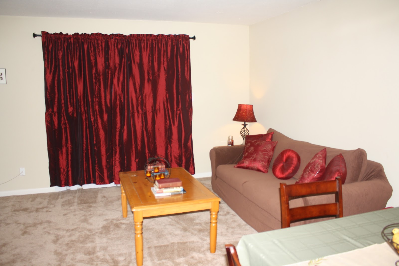 Inspiring Red Curtains In Living Room 19 Photo Lentine