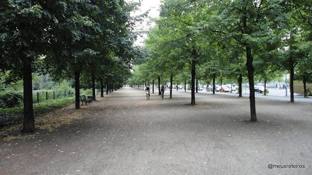 Parque Tiegarten - Berlim