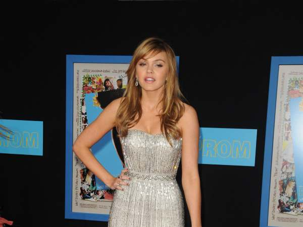 Aimee Teegarden sexy in dress fashion