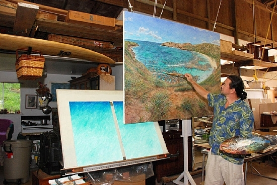 Bill Braden, Hawaii Artist on Oahu