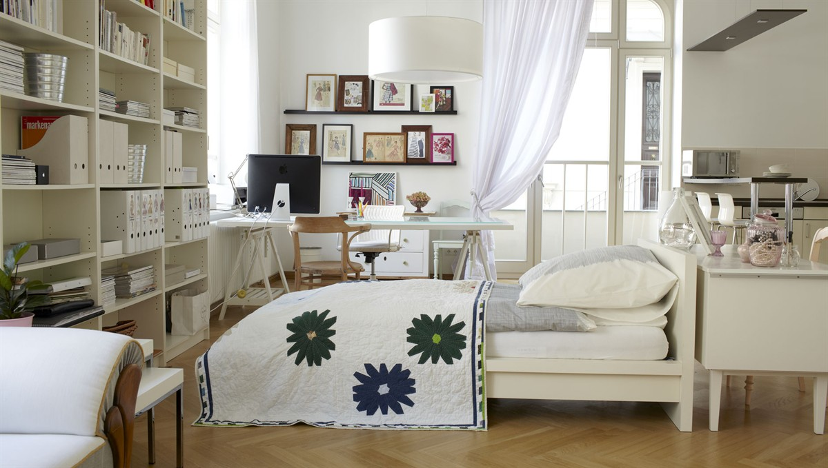 Seek an idea ikea inspired for One bedroom living room ideas