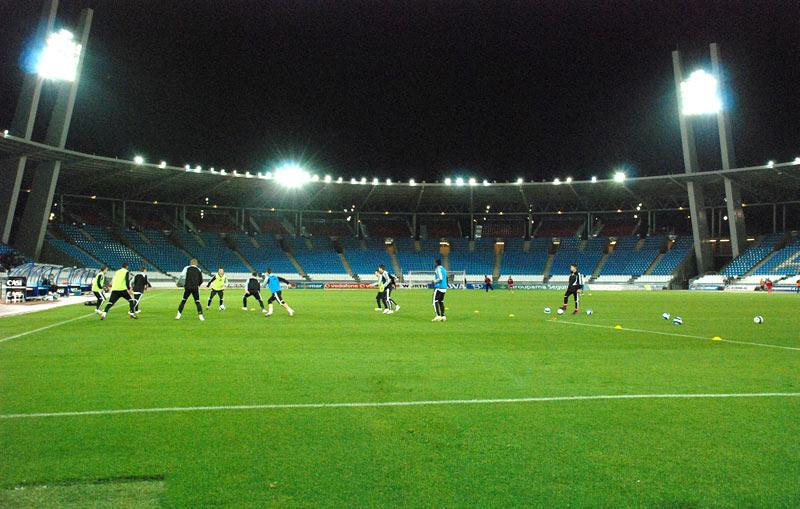 Stadion UD Almeria w Hiszpanii - fot. Tomasz Janus / sportnaukowo.pl