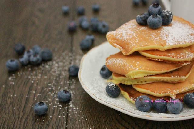 Q.b.-Quanto Basta: Pancakes alla banana