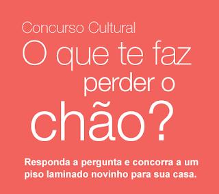 Concurso Cultural O Que Te Faz Perder o Chão