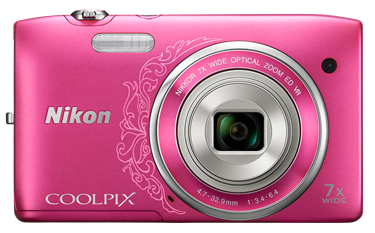 Nikon Coolpix S3500 Camera User's Manual