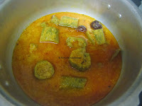 14 Stuffed Peerkangai Kuzhambu