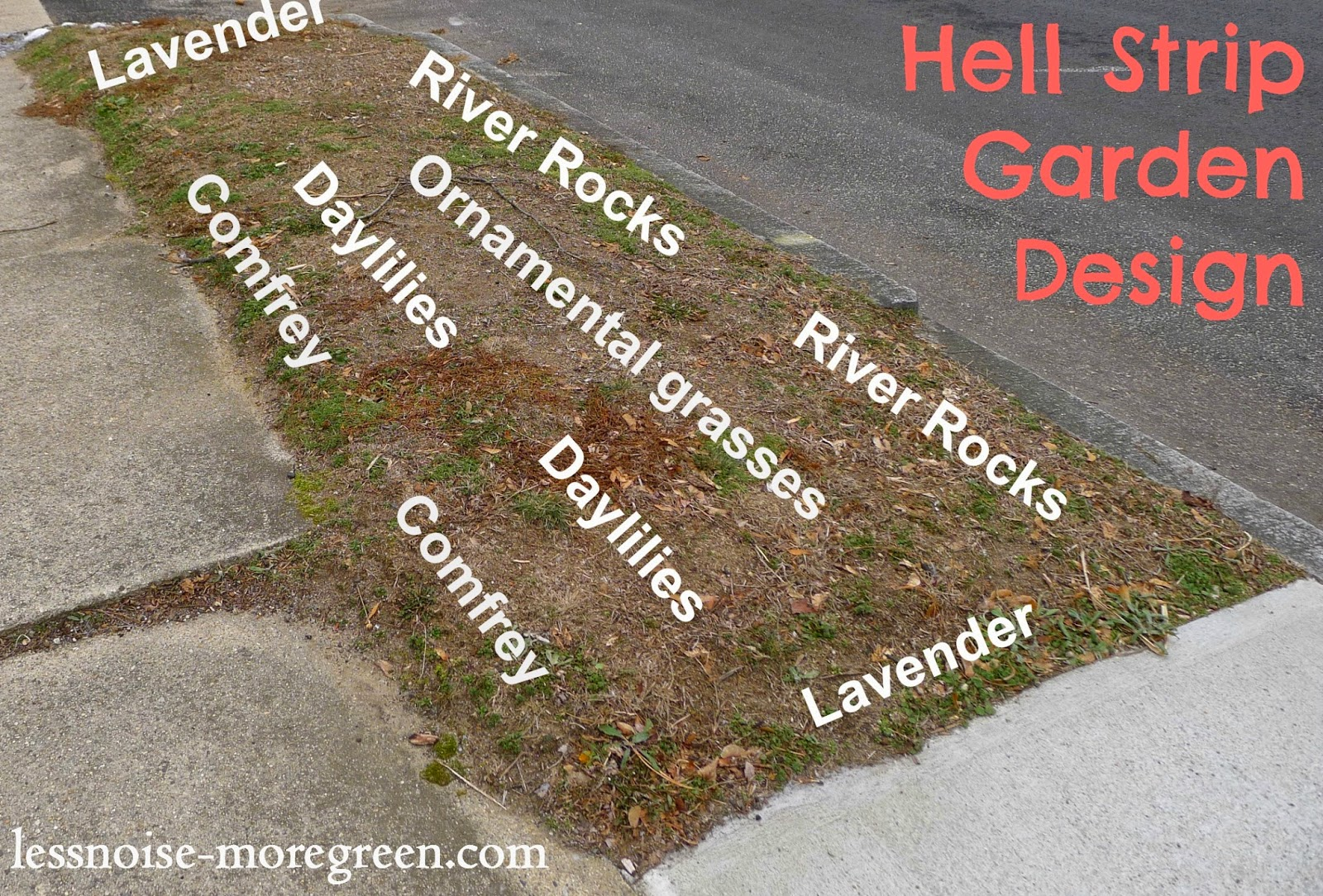 Hell Strip Garden Design, Rhode Island
