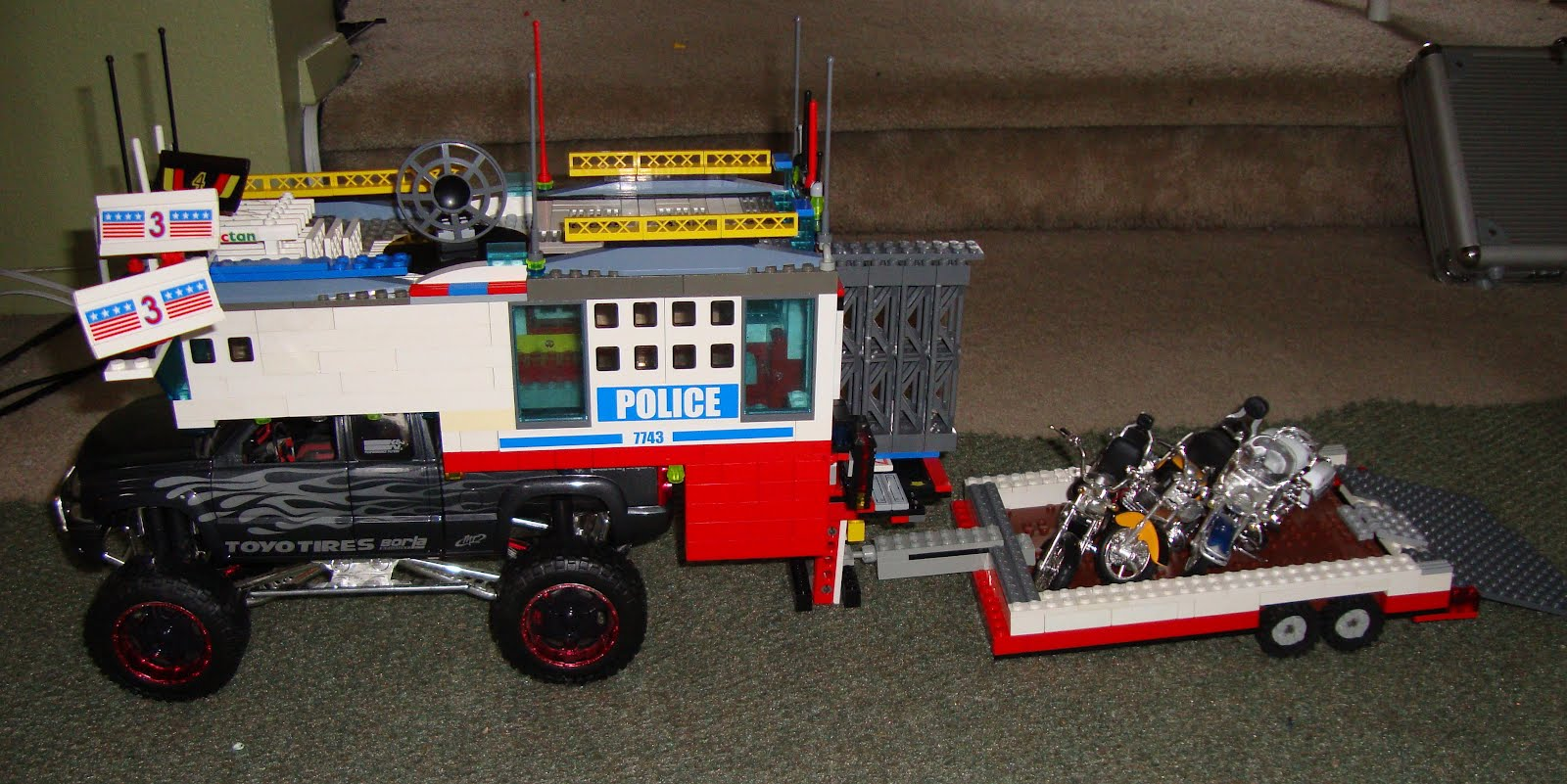 Как сделать прицеп для машины из LEGO видео 90
