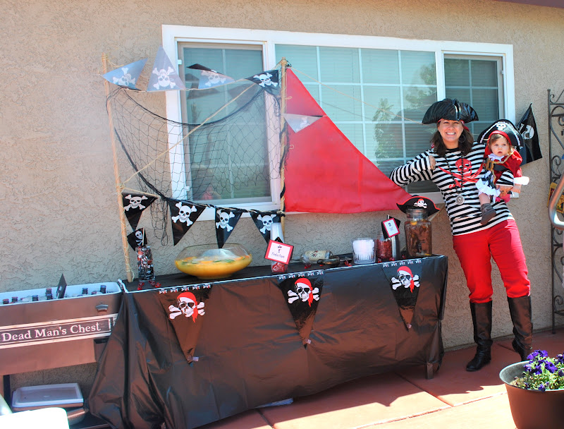Ahoy Matey Its Aboy Pirate Themed Baby Shower