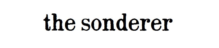 the sonderer