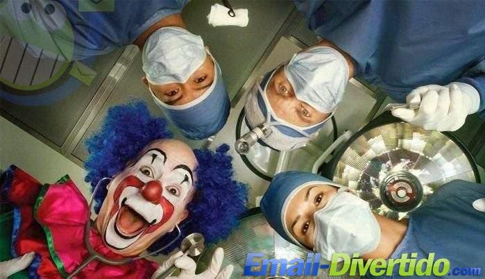 doutor doutores divertido palhaço médico rir lol