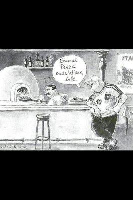 Eine Pizza Endtsatione
