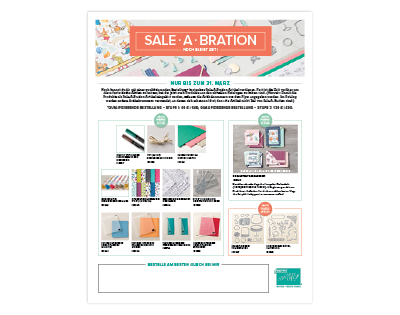 SALE-A-BRATION NEWS