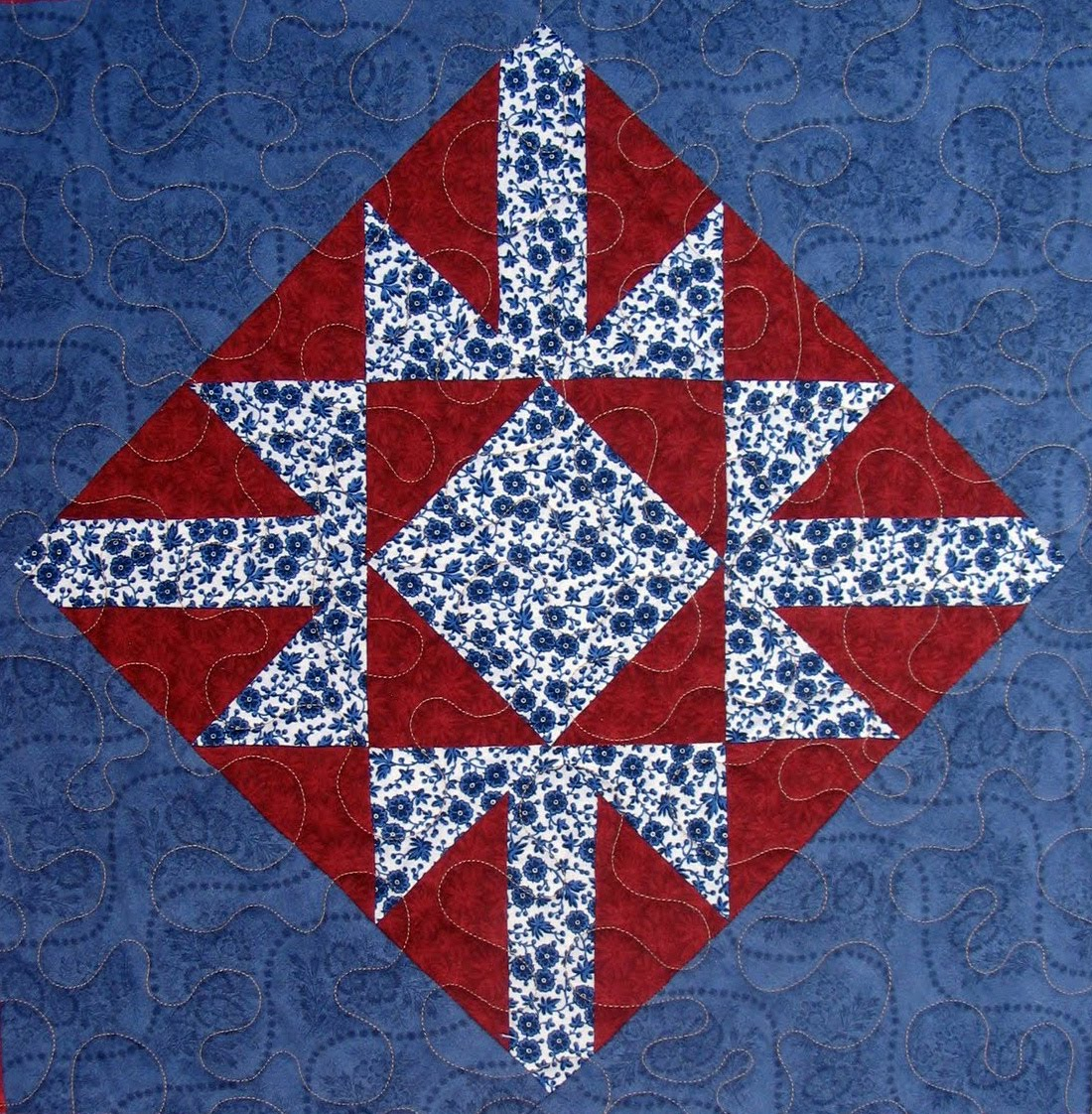 Starwood Quilter: Old Snowflake Quilt Block