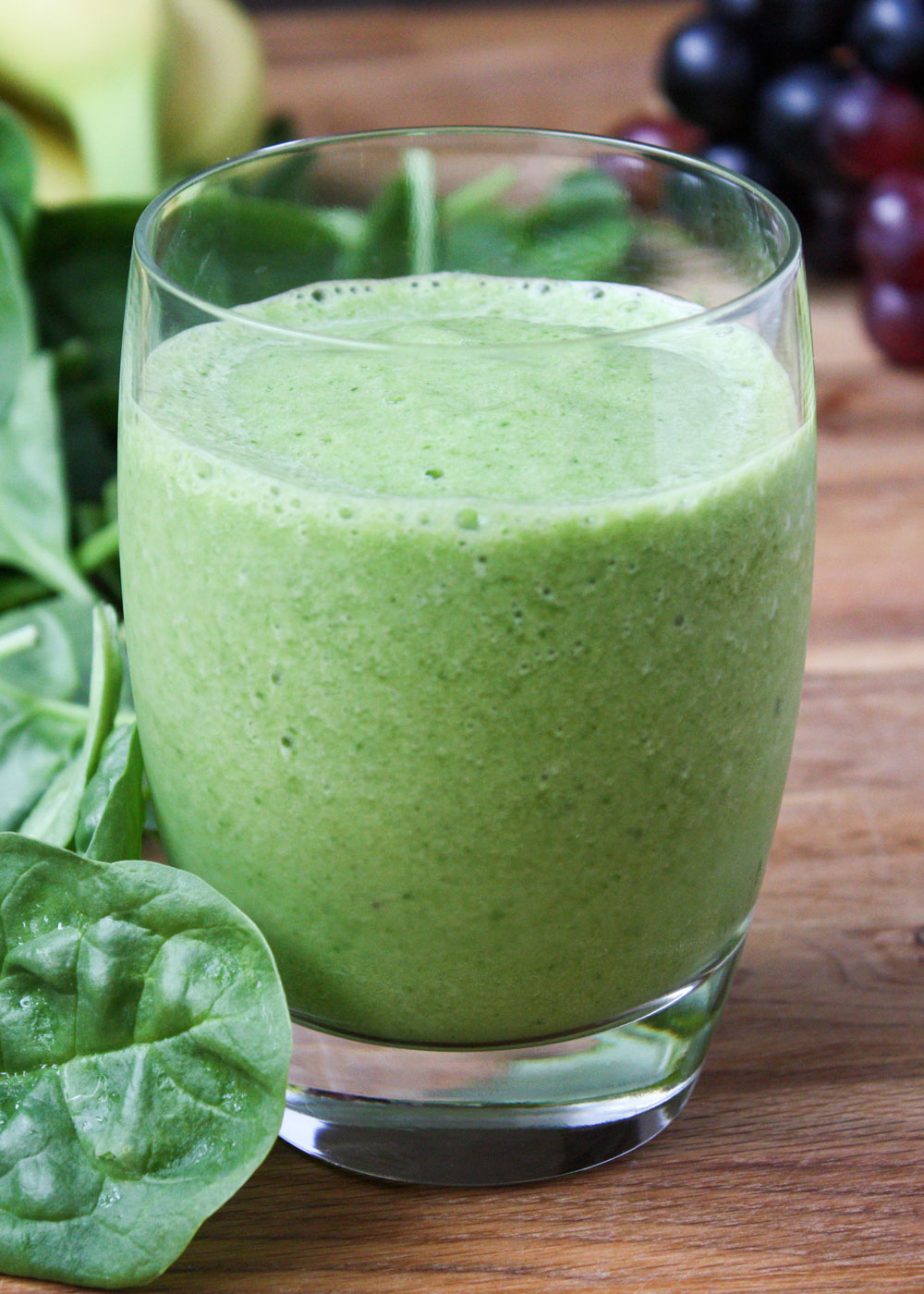 "Favorite Green Smoothie Recipe - the best green smoothies don't taste ""green"" at all!"
