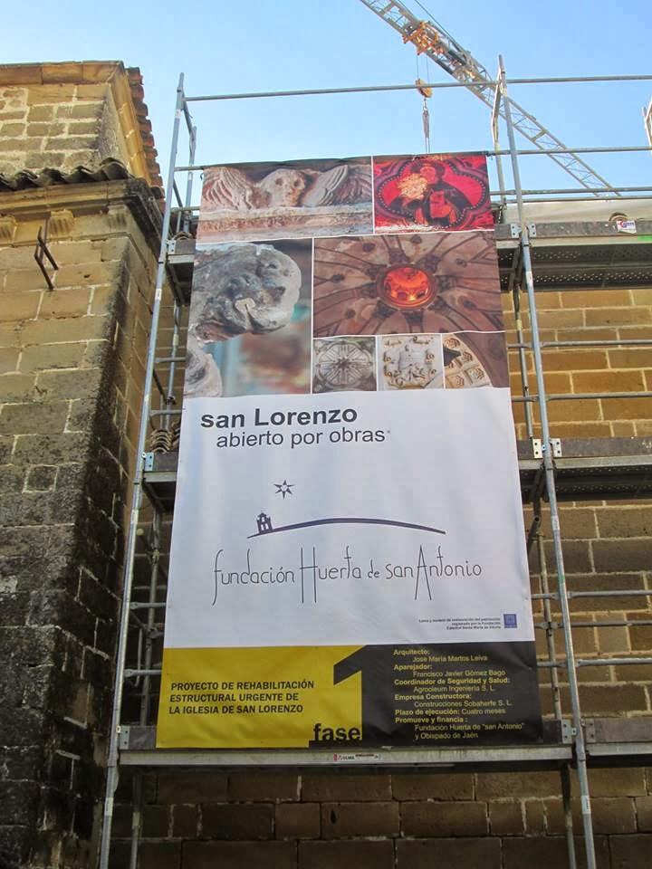 La Iglesia De San Lorenzo; Está Siendo Salvada