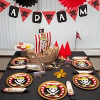 Pirat tema til børnefødselsdag