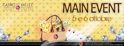 Poker Main Event di ottobre