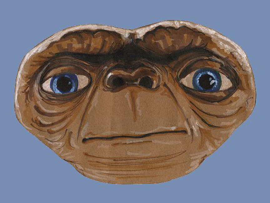 First comes lovable E T    E.t. Mask