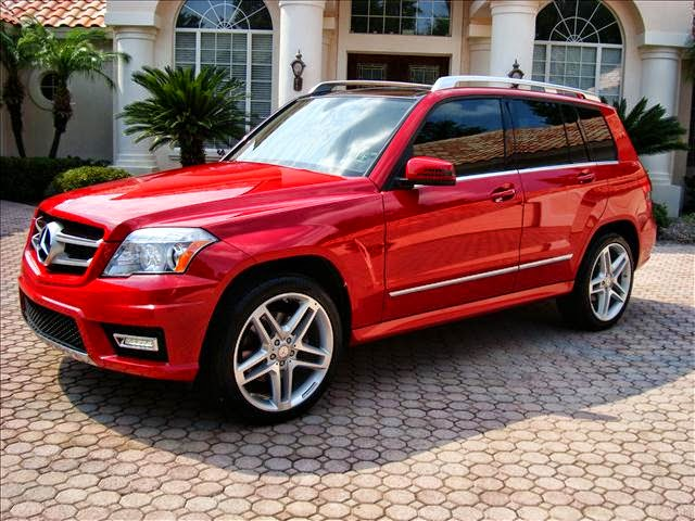 mercedes benz glk 350 4matic red benztuning