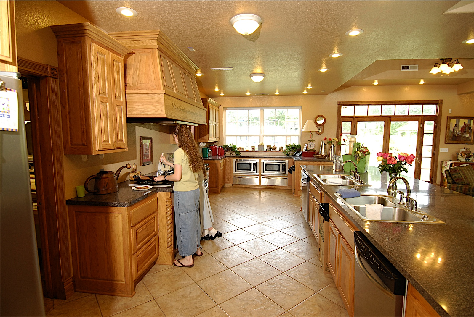 Duggar family blog duggar updates duggar pictures jim for Pretty kitchens