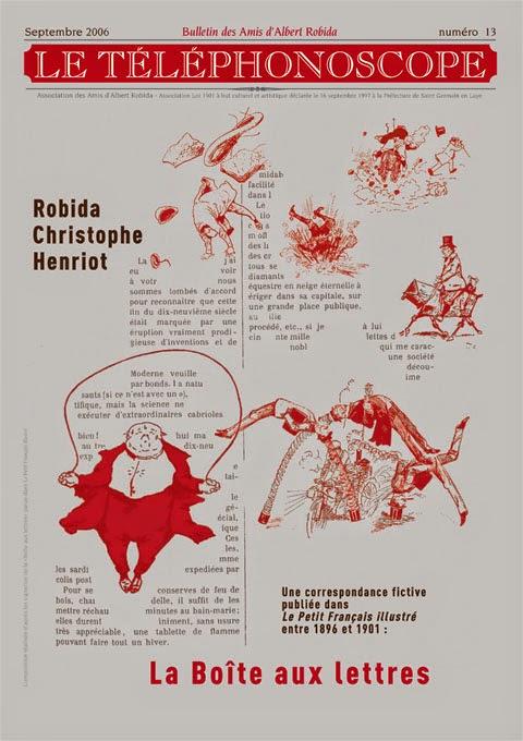 """n°13 – Robida, Christophe, Henriot : """"La Boîte aux Lettres"""""""