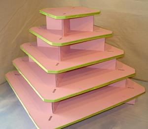 Como hacer una base para cupcakes lodijoella - Como construir una pared ...
