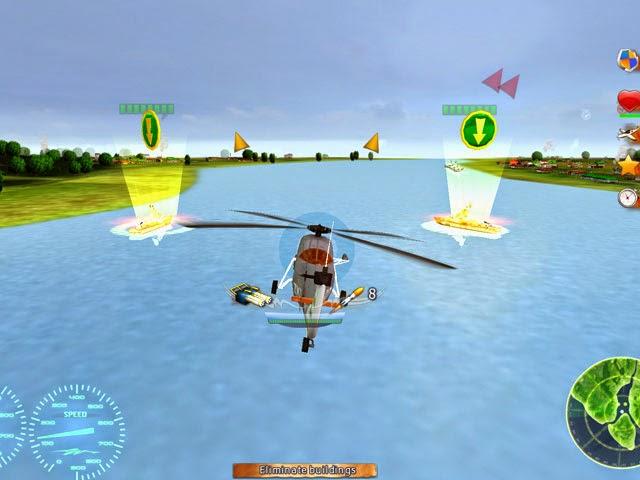 لعبة حرب الطائرات الهليكوبتر Helicopter Wars