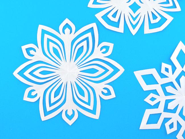 omiyage blogs the kirigami project week 52 snowflower